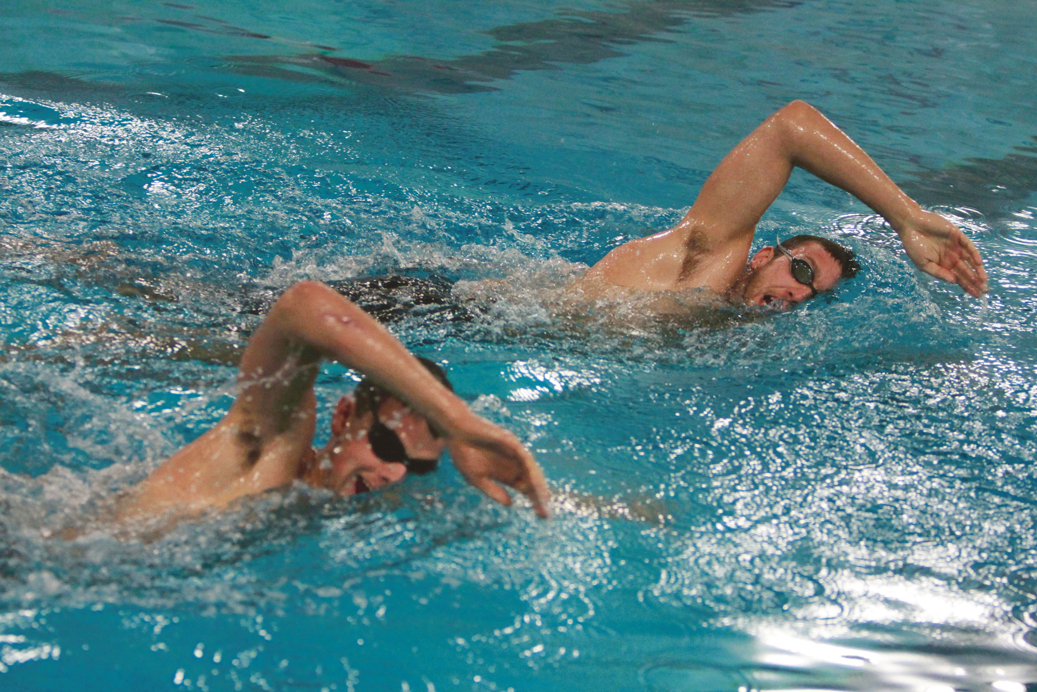Swimming Classes Improving Strokes